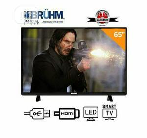 Bruhm 65-Inch Smart 4K UHD LED TV + 12 Month Warranty   TV & DVD Equipment for sale in Lagos State, Ikeja