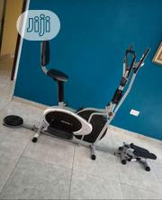 Orbitrac Bike Four Handle With,Dumbbell,Twisters and Stepper P   Sports Equipment for sale in Lagos State, Ikeja