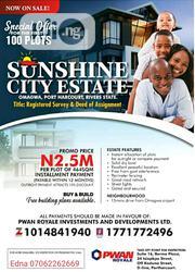Affordable Estate Lands in Port Harcourt | Land & Plots For Sale for sale in Rivers State, Port-Harcourt