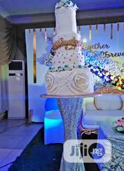 4 Tier White Wedding Cake | Wedding Venues & Services for sale in Lagos State, Amuwo-Odofin