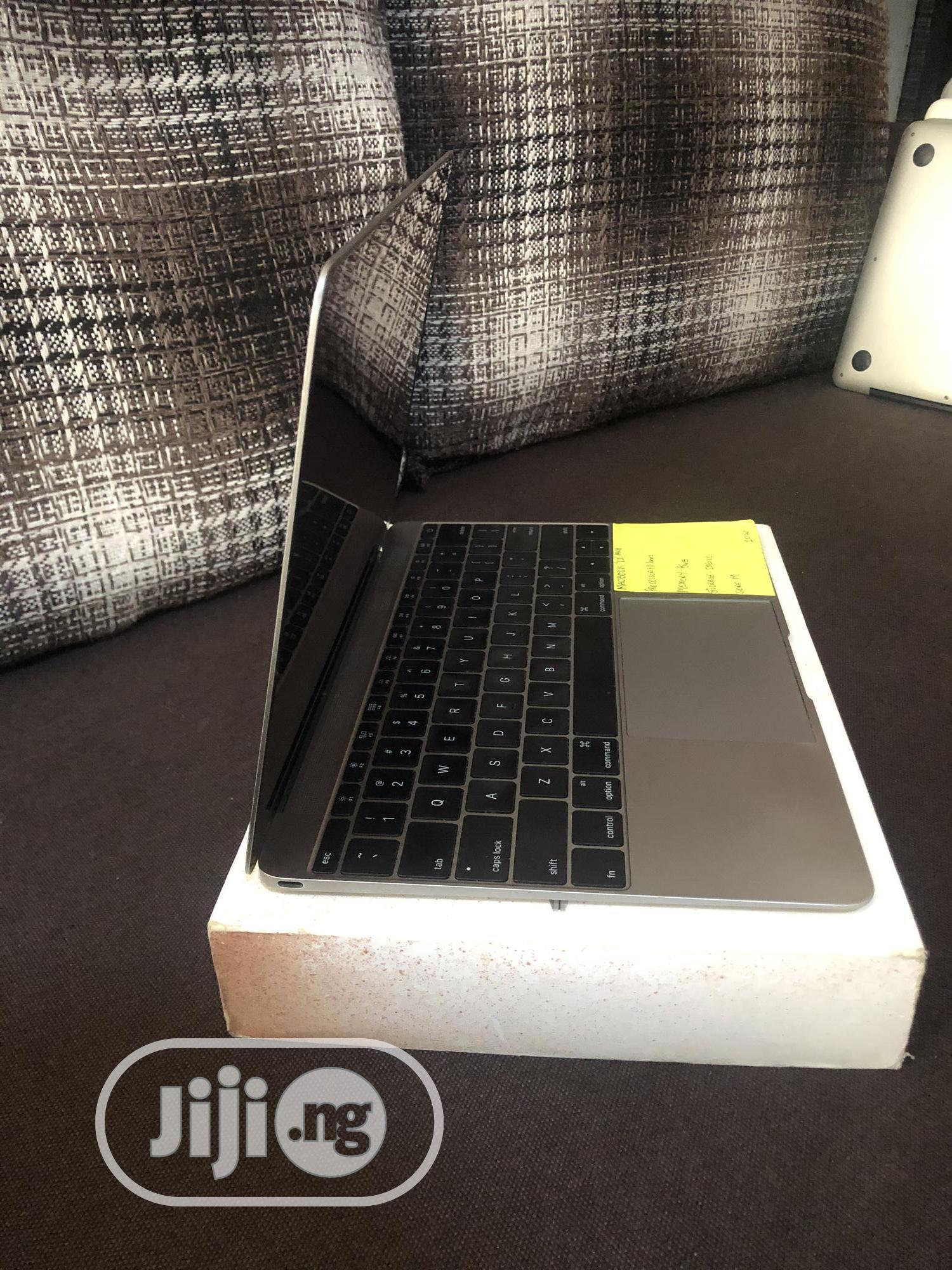 Laptop Apple MacBook 8GB Intel Core M SSD 256GB | Laptops & Computers for sale in Ajah, Lagos State, Nigeria