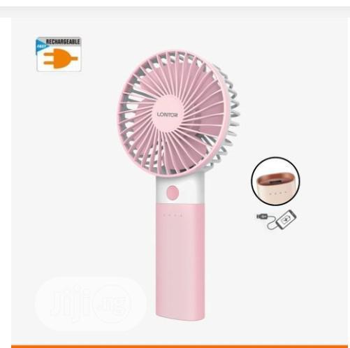 Lontor Rechargeable Mini Hand Fan