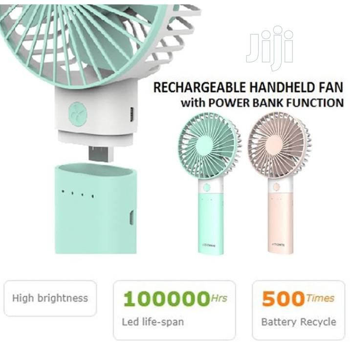 Lontor Rechargeable Mini Hand Fan | Home Accessories for sale in Lagos Island, Lagos State, Nigeria