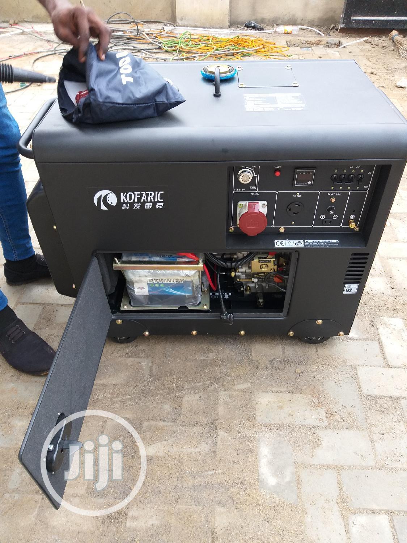 6.25 KVA 3 Phase Diesel Generator (Kofaric)   Electrical Equipment for sale in Kubwa, Abuja (FCT) State, Nigeria