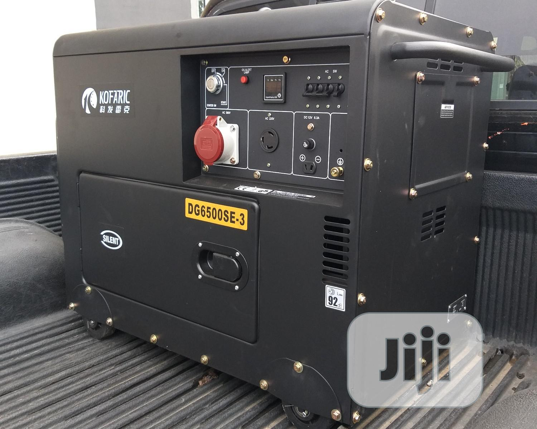 6.25 KVA 3 Phase Diesel Generator (Kofaric)