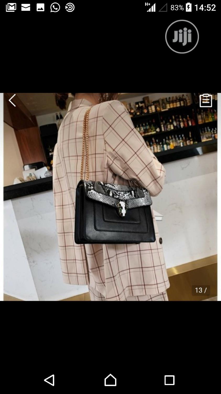 Black Snake Skinned Bag   Bags for sale in Kubwa, Abuja (FCT) State, Nigeria