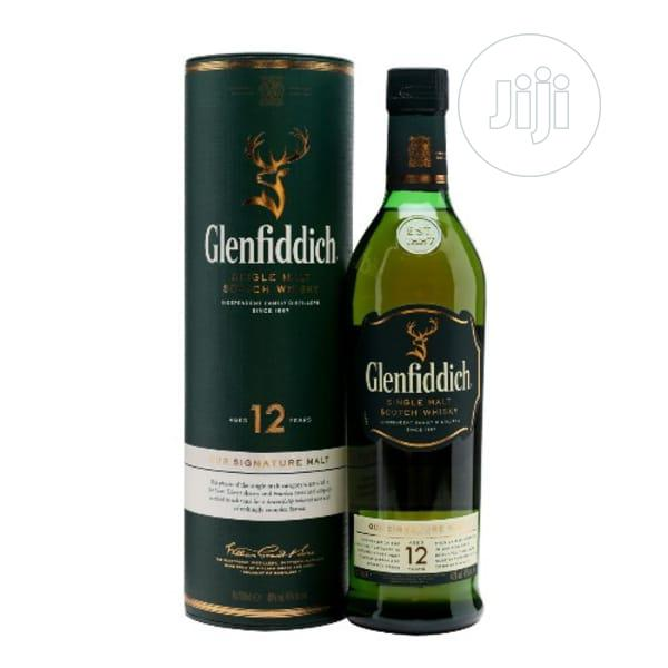 Glenfiddich 12 Year Old Single Bottle (70cl)