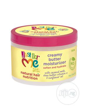 Just for Me Natural Hair Nutrition Creamy Butter Moisturizer, 12 Oz