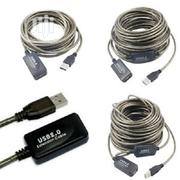 USB 2.0 Extension Cable-20m   Accessories & Supplies for Electronics for sale in Lagos State, Isolo