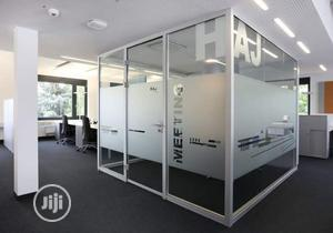 Office Frameless Partition   Building & Trades Services for sale in Lagos State, Victoria Island