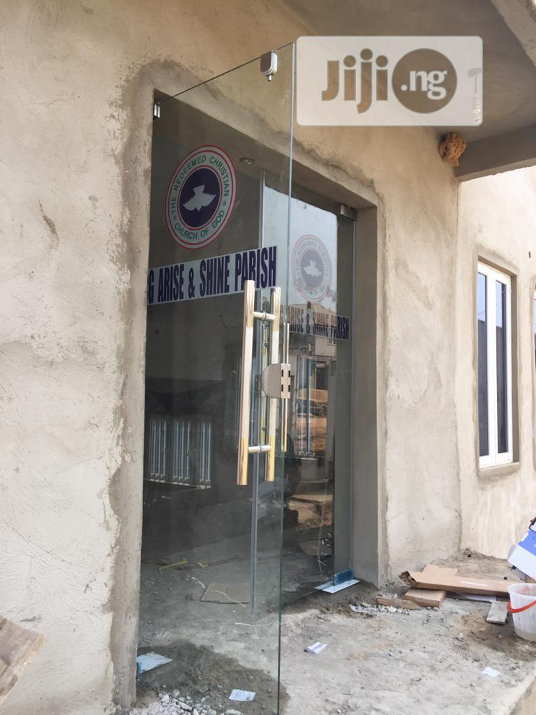 Glass Door | Manufacturing Services for sale in Amuwo-Odofin, Lagos State, Nigeria
