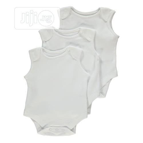 George 3 in 1 Sleeveless Body Suit Baby Singlet