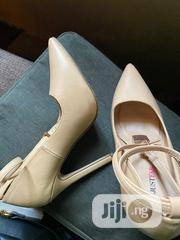 Justfab Nude Stilettos UK Size 4 | Shoes for sale in Abuja (FCT) State, Gudu