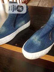 A Pair of Blue Jean Sneakers Fairly Used.   Shoes for sale in Imo State, Owerri