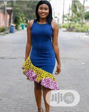 Jean With Ankara | Clothing for sale in Rivers State, Obio-Akpor