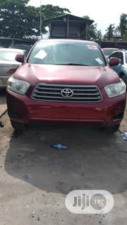 Toyota Highlander 4x4 2008 Red | Cars for sale in Lagos State, Amuwo-Odofin