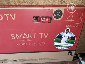 LG Smart Tv 43 Inches TELEVISION With 2years WARRANTY   TV & DVD Equipment for sale in Lagos State, Mushin