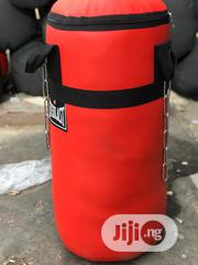 Medium Size Punching Bag With Free Boxing Gloves | Sports Equipment for sale in Abuja (FCT) State, Asokoro