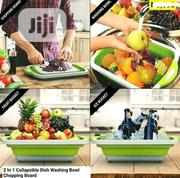 3 In One Collapsible Drainer And Cutting Board | Kitchen & Dining for sale in Lagos State, Ikeja
