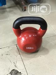 Red Colour 16kg Kettle Dumbbell | Sports Equipment for sale in Abuja (FCT) State, Jabi