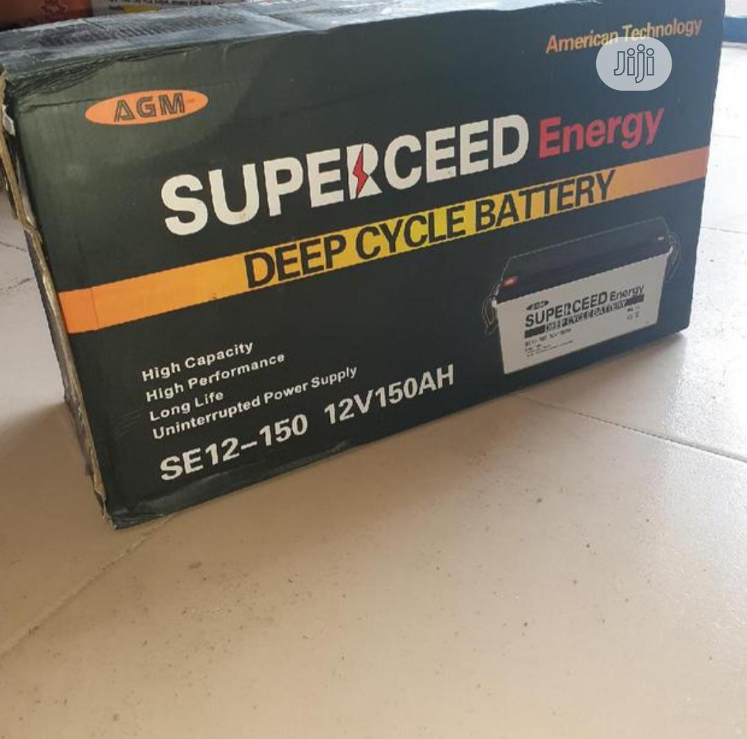 Archive: Superceed 150ah 12v Battery