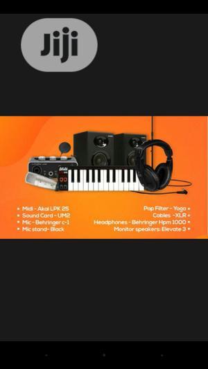 Complete Studio Kit   Audio & Music Equipment for sale in Lagos State, Ojo