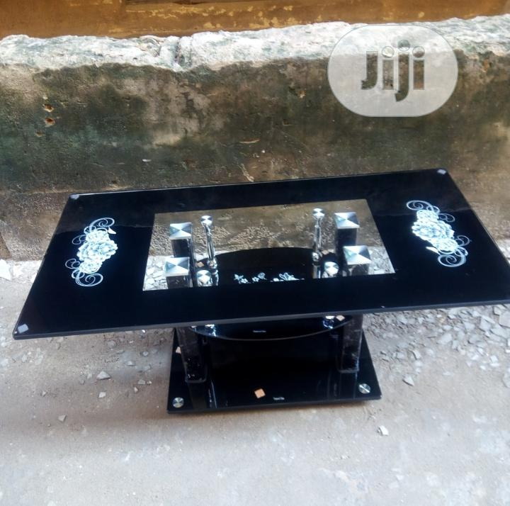 High Grade Tempered Glass Center Table