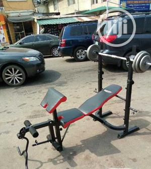 Bodyfit Weight Bench With 50kg Dumbbells. | Sports Equipment for sale in Lagos State, Victoria Island