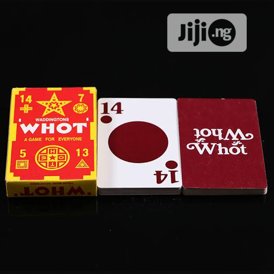Whot Card Game   Books & Games for sale in Lagos Island, Lagos State, Nigeria