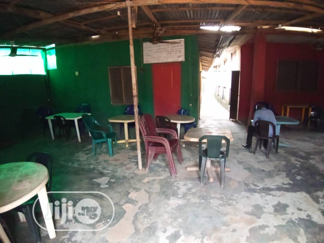 Functioning 13 Rooms Hotel on a Full Plot of Land at Ikola Command | Commercial Property For Sale for sale in Ipaja, Lagos State, Nigeria