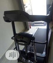 Imported Black 2.5hp Treadmill | Sports Equipment for sale in Lagos State, Ikoyi