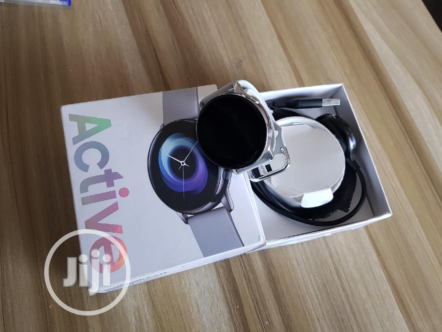 Samsung Galaxy Watch Active For Sale | Smart Watches & Trackers for sale in Ibadan, Oyo State, Nigeria