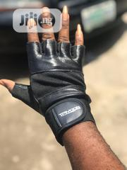 Leather Gym Glove | Sports Equipment for sale in Lagos State, Ikorodu