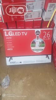 Original 26 Inches LED Tv LG ( SIDED SPEAKER) | TV & DVD Equipment for sale in Lagos State, Ojo