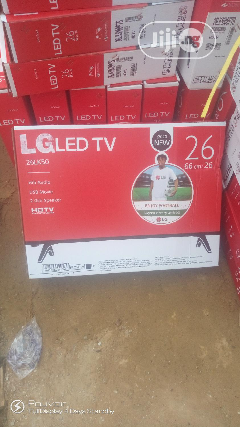 Original 26 Inches LED Tv LG ( SIDED SPEAKER) | TV & DVD Equipment for sale in Ojo, Lagos State, Nigeria