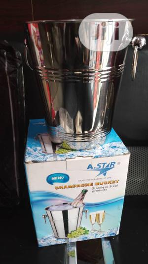 Stainless Steel Champagne Bucket   Kitchen & Dining for sale in Lagos State, Ojo