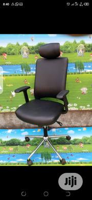 Leather Ergonomic Chair With Headrest | Furniture for sale in Lagos State, Ikeja