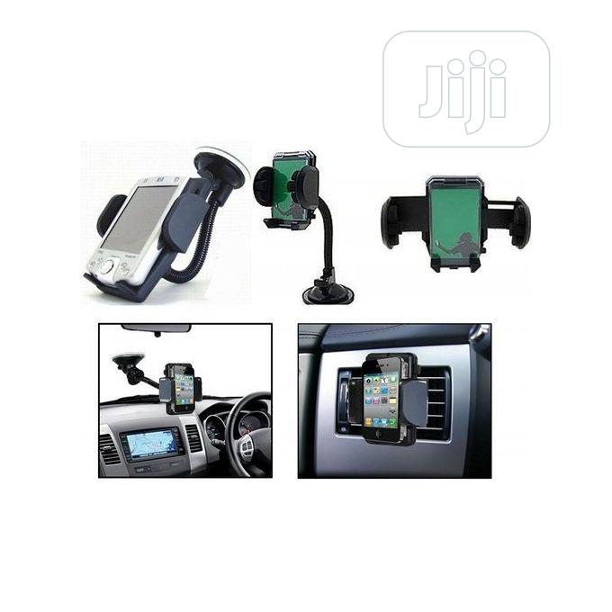 Fly Premium Car Phone Holder With 360 Degree Rotation