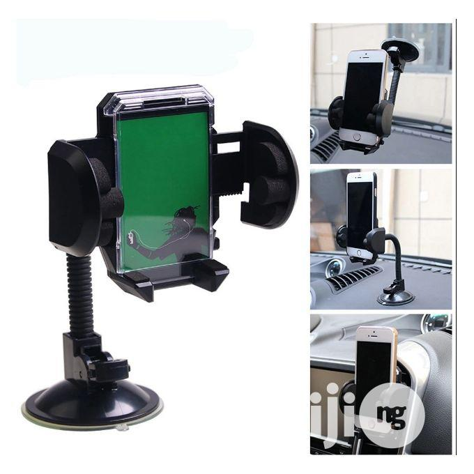 2 In 1 Best Car Phone Holder ETC With 360 Degree Rotation