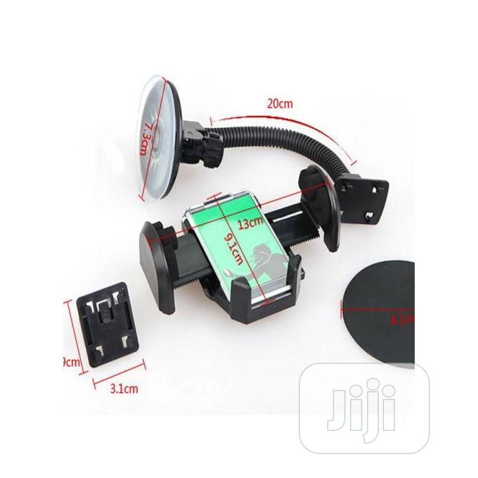 2 In 1 Best Car Phone Holder ETC With 360 Degree Rotation | Vehicle Parts & Accessories for sale in Surulere, Lagos State, Nigeria