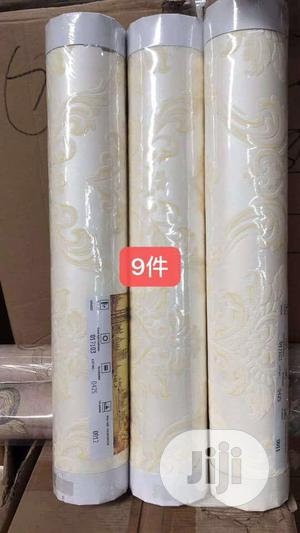 Classic Gold Damask 3D Wallpaper | Home Accessories for sale in Lagos State, Agege