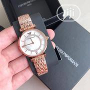 Emporio Armani Rose Gold Chain Watch for Women's | Watches for sale in Lagos State, Lagos Island