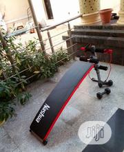 Nassau Sit-Up Bench With Dumbbell | Sports Equipment for sale in Lagos State, Ikoyi