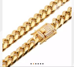 Miami New Big Box Clasp Cuban Link Chain | Jewelry for sale in Abuja (FCT) State, Kubwa