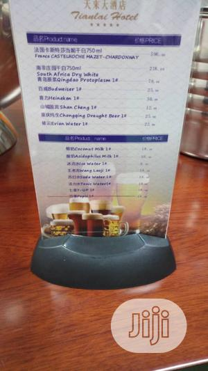 Led Menu Stand   Restaurant & Catering Equipment for sale in Lagos State, Ojo