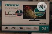"""Hisense Led Tv 24"""" With Hanger Black   TV & DVD Equipment for sale in Lagos State, Ikeja"""