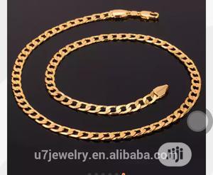 U7 Gold Hip Hop Chain | Jewelry for sale in Abuja (FCT) State, Kubwa