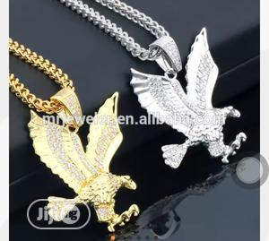 High Quality Twisted Gold Chain With Eagle Pendant. | Jewelry for sale in Abuja (FCT) State, Kubwa