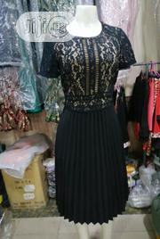 Black Plitted Gown for Parties and Outings | Clothing for sale in Lagos State, Maryland