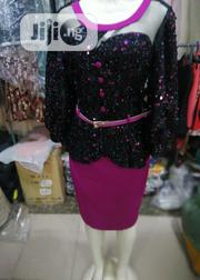 Black and Purple Turkey Sequence Gown for Occasions N Events | Clothing for sale in Lagos State, Magodo